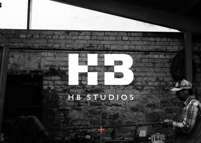 HB Studios website designed by Lanx World web design in Somerset